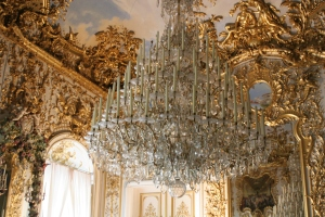 Chandelier-at-Linderhof-Castle