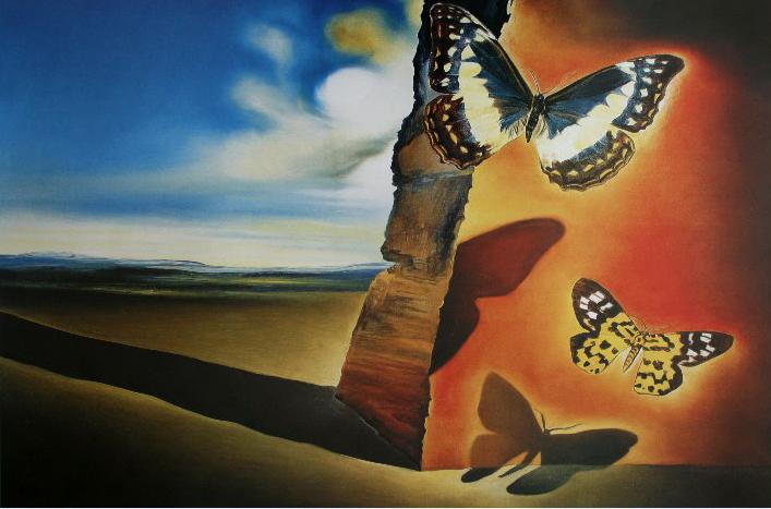 9-Paesaggio-con-farfalle-1956-Dali