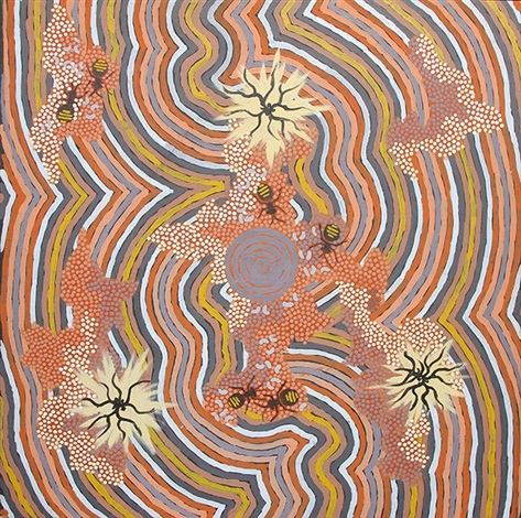 clifford-possum-tjapaltjarri-honey-ants-dreaming