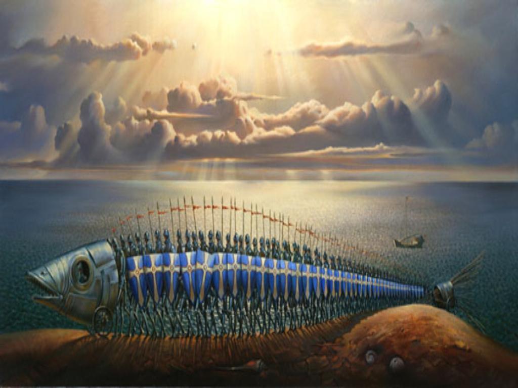 Vladamir-Kush-Surreal-Painting-Art-Gallery-Fish-Crusades